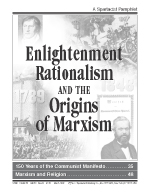 Enlightenment Rationalism and the Origins of Marxism